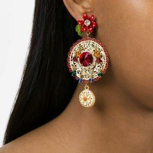 🆕Chandelier earrings baroque inspired